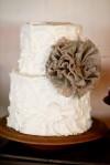 Simply Chic Wedding Cake