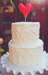 Simply Romantic Wedding Cake