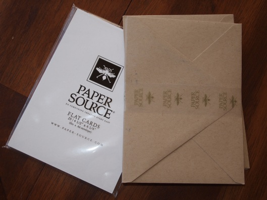 Card Stock and Envelopes