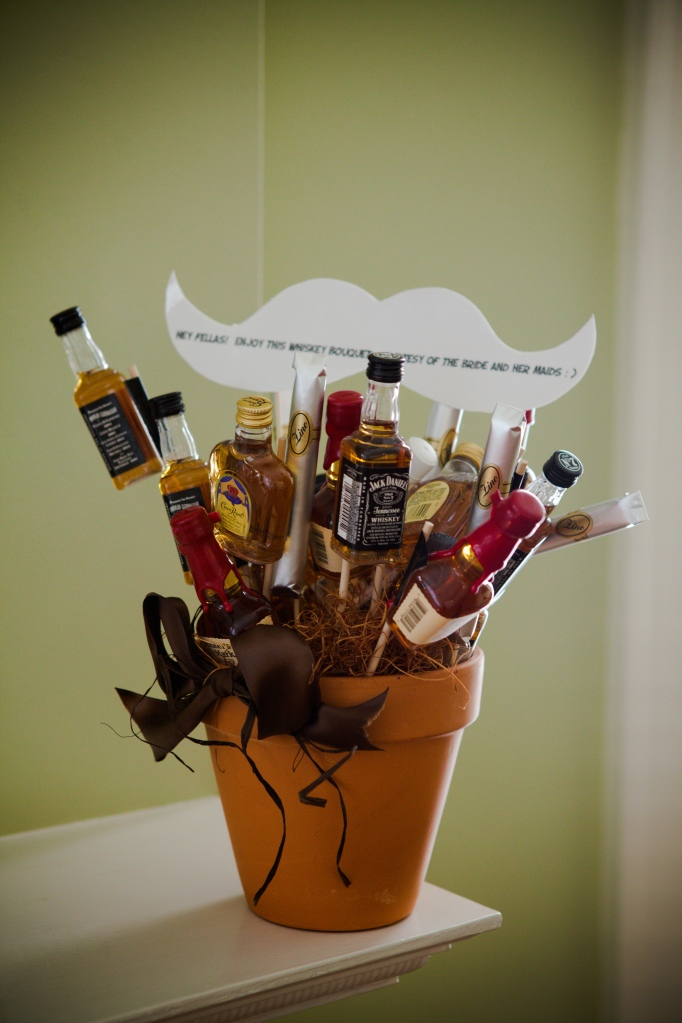 Groomsmen Liquor Bouquet