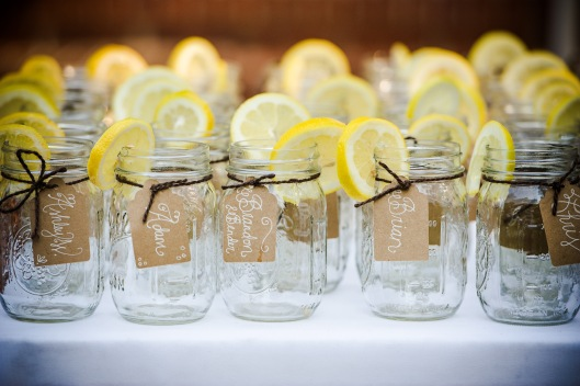 Mason Jar Name Tags