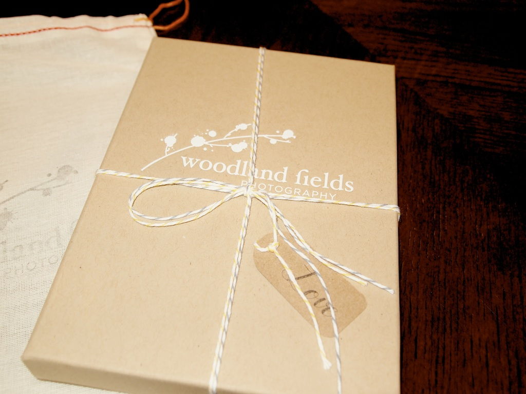 Woodland Fields Photography Packaging